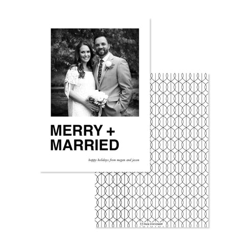 Holiday | Merry + Married