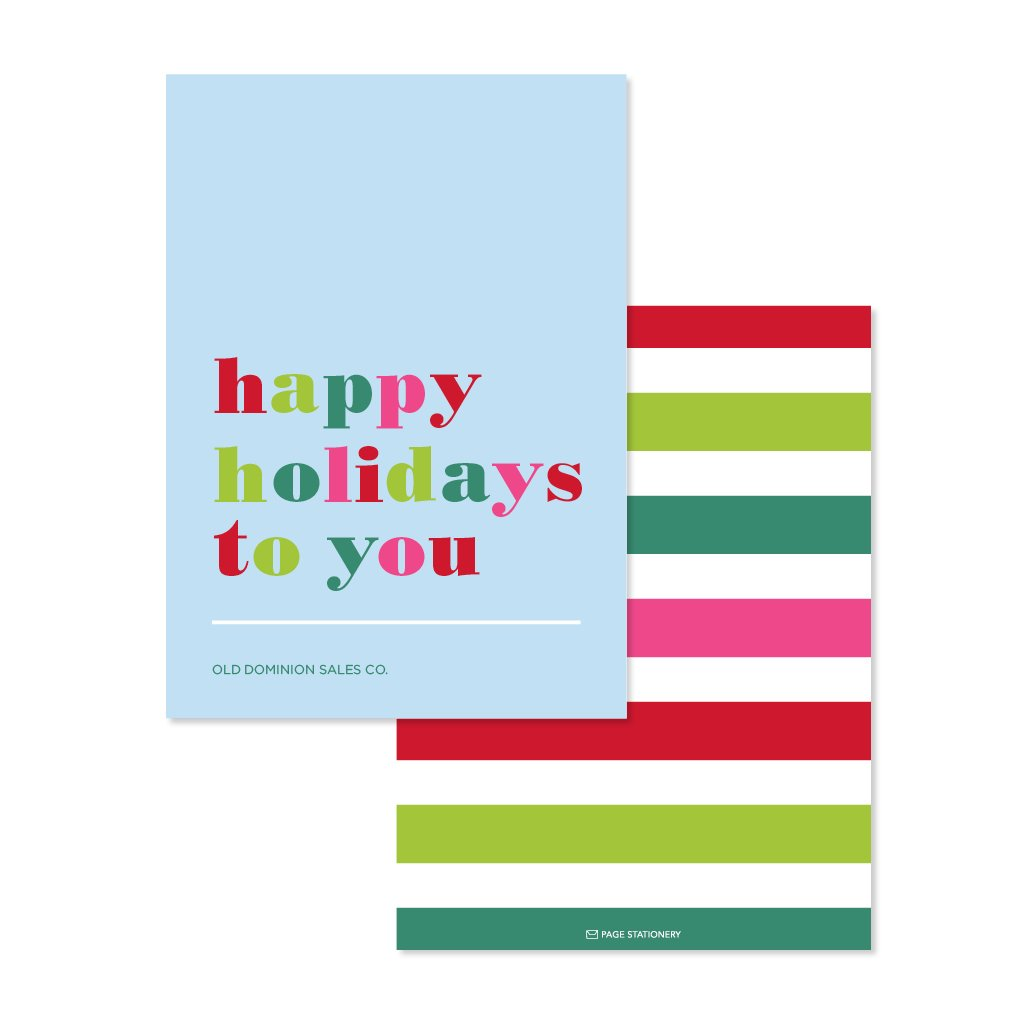 Holiday | Happy Holidays to you