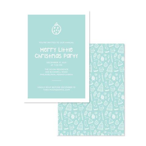 Holiday | Merry Little Party Invitation
