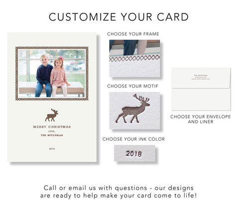 Design Your Customized Card