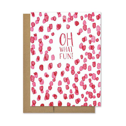 Oh What Fun | Holiday Card Set