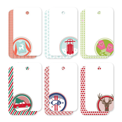 Assorted Festive Holiday | Gift Tags