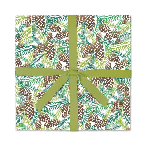 Pinecones | Gift Wrap