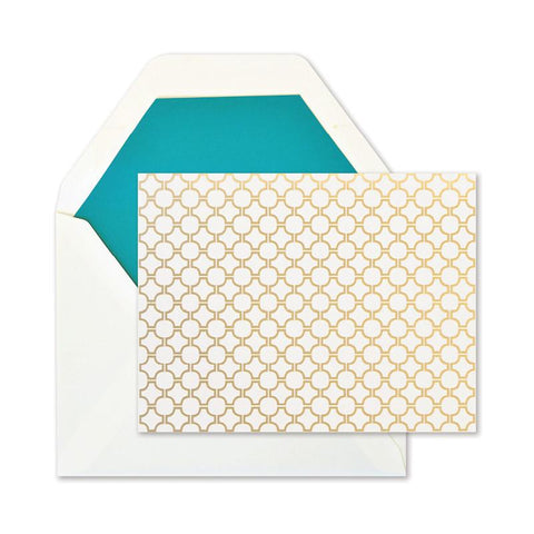 Gold Foil Assorted Pattern Notes