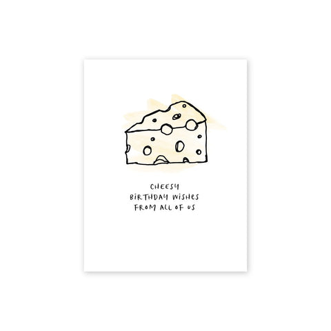 Cheesy Birthday | Single Card