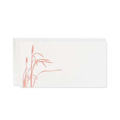Cattails Floral Notecards