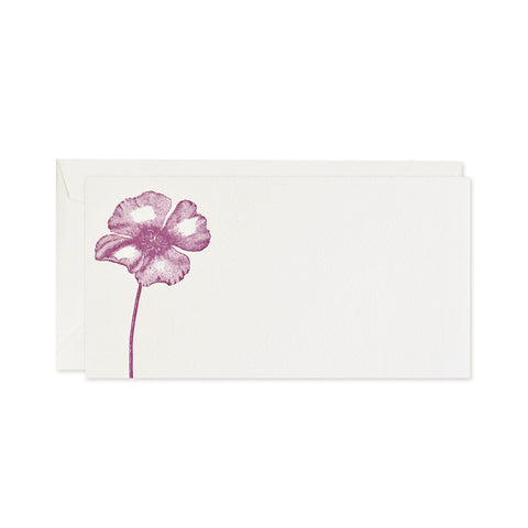 Poppy Floral Notecards