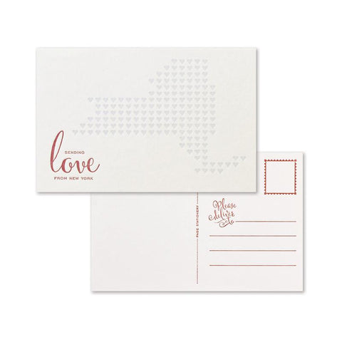 Sending Love Postcard Set |  New York