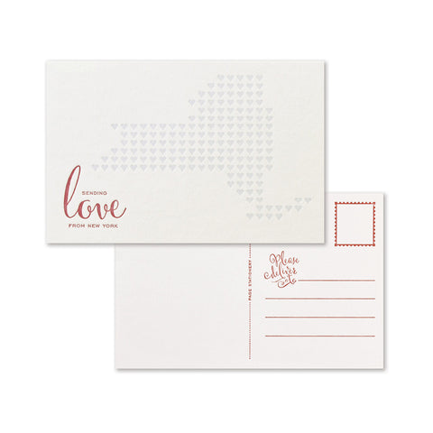 Sending Love Postcard | New York