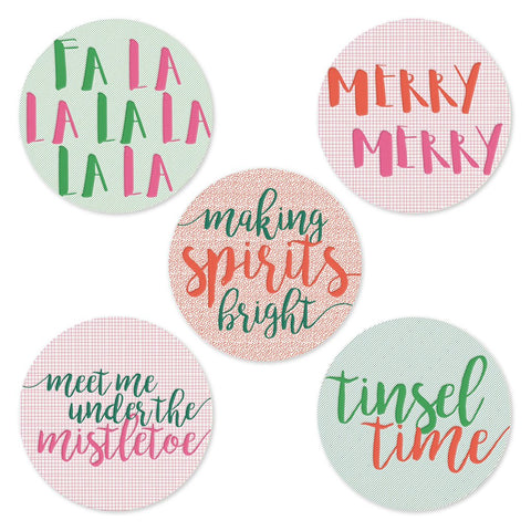Holiday Spirits | Assorted Coasters