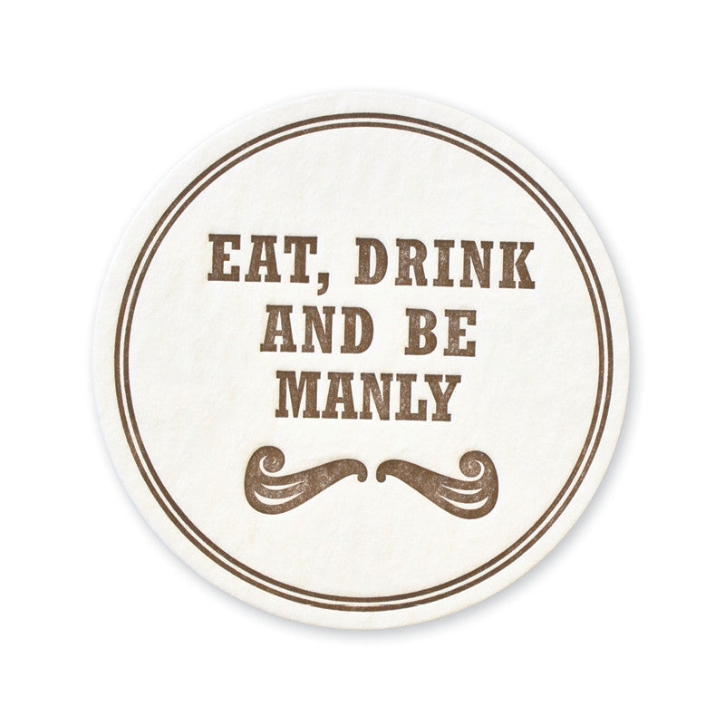 the art of manliness be manly coasters page stationery