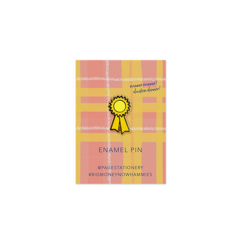 Winner Winner Prize Ribbon | Pin