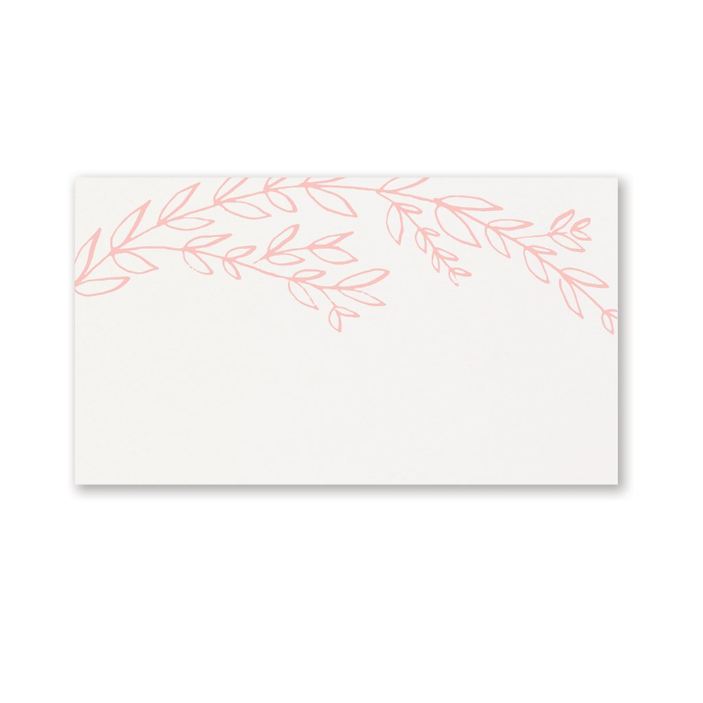 Blush Vine | Place Cards