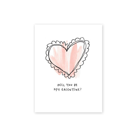 Be My Galentine | Single Card