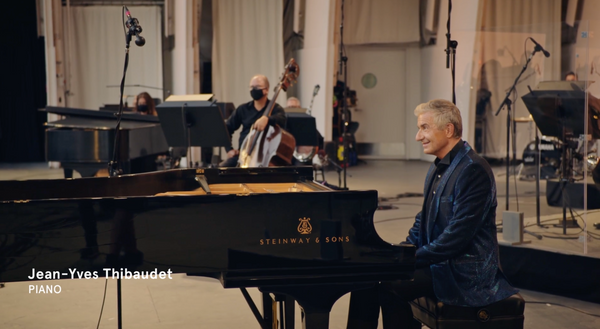 Jean-Yves Thibaudet will be playing with Los Angeles Philharmonic.