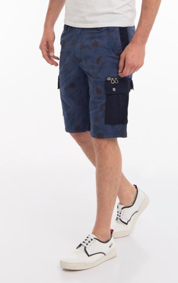 2366-NAVY 1 SHORTS - Ron Tomson