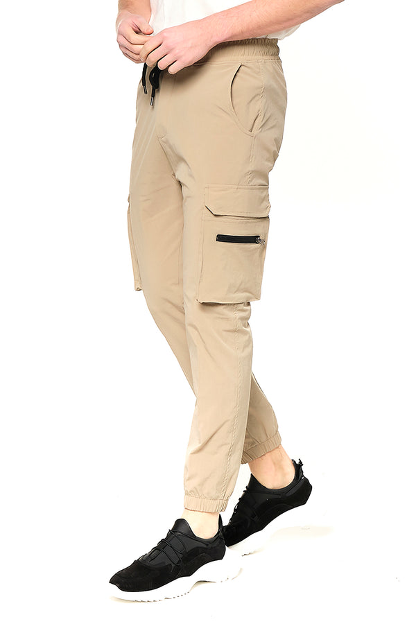 Side Zip-Pocket Track Pants - VIZON - Ron Tomson