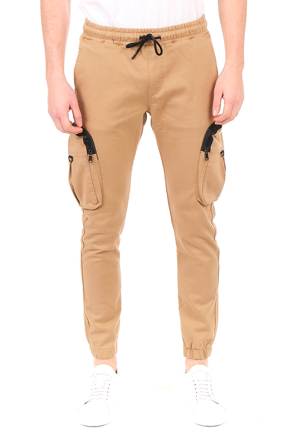 2649-BEIGE PANTS - Ron Tomson