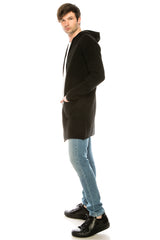 Mr Preppy knitted Cardigan - BLACK - Ron Tomson