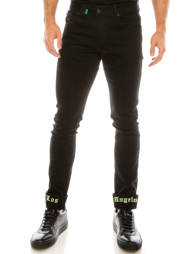 Los Angeles Lux Denim - BLACK GREEN