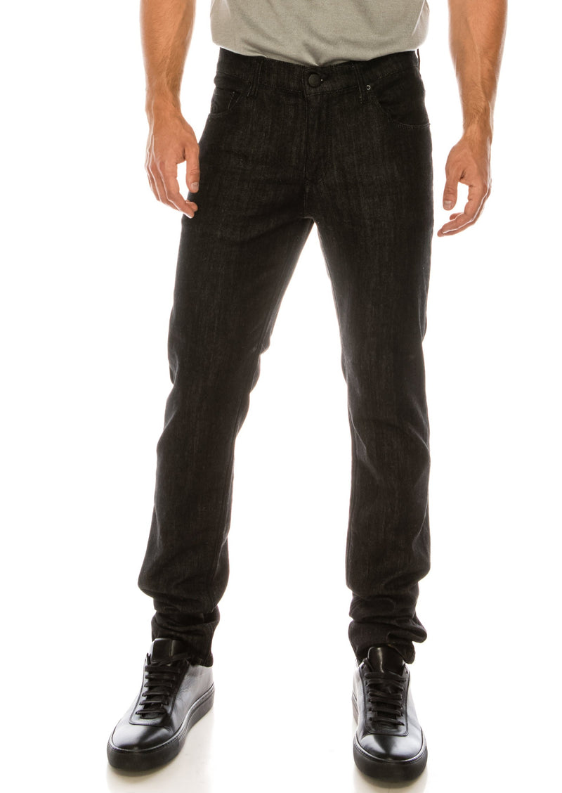 RT Tapered Jeans - Black - Ron Tomson