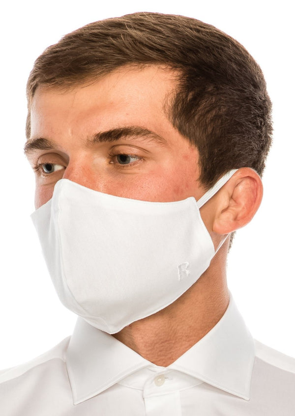 Face masks reusable and washable - White - Ron Tomson