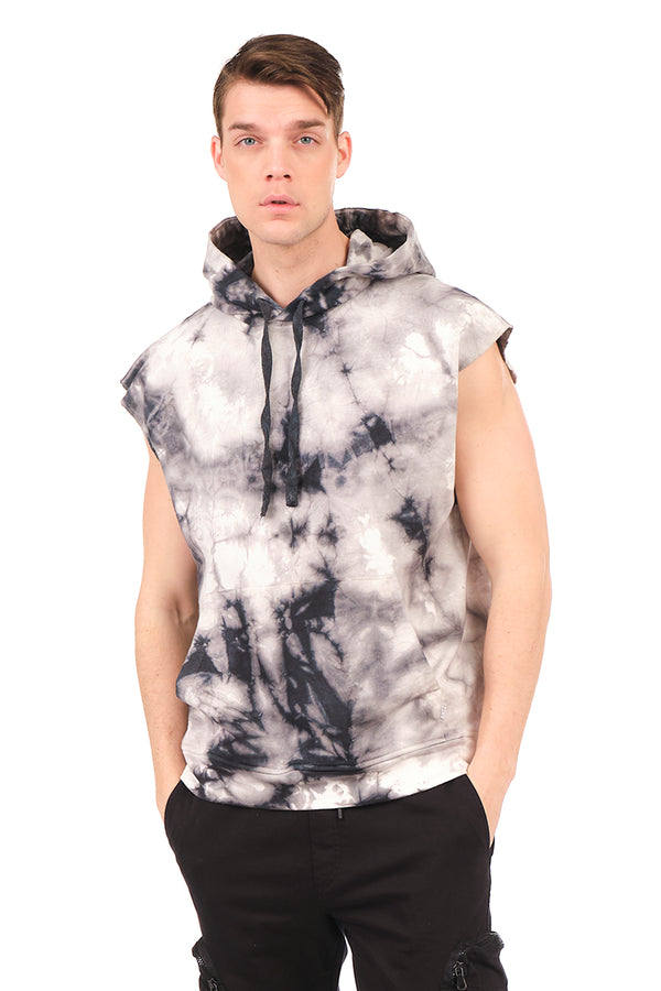 5947-BLACK BATIK SWEATSHIRT - Ron Tomson