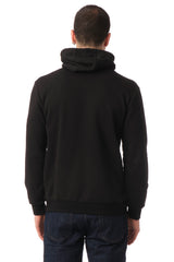 Classic Pullover with Face Covering - BLACK - Ron Tomson