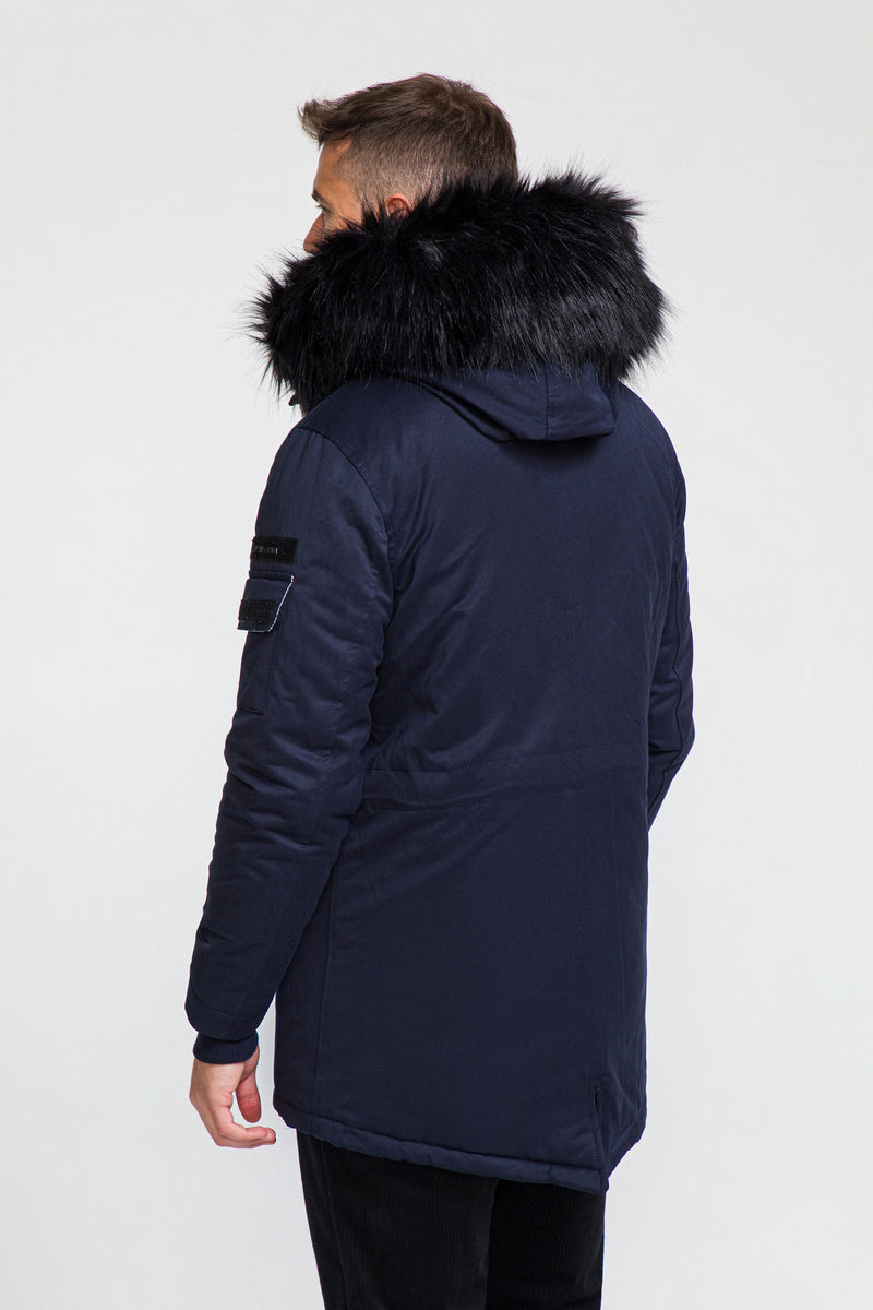 71061-NAVY COAT - Ron Tomson
