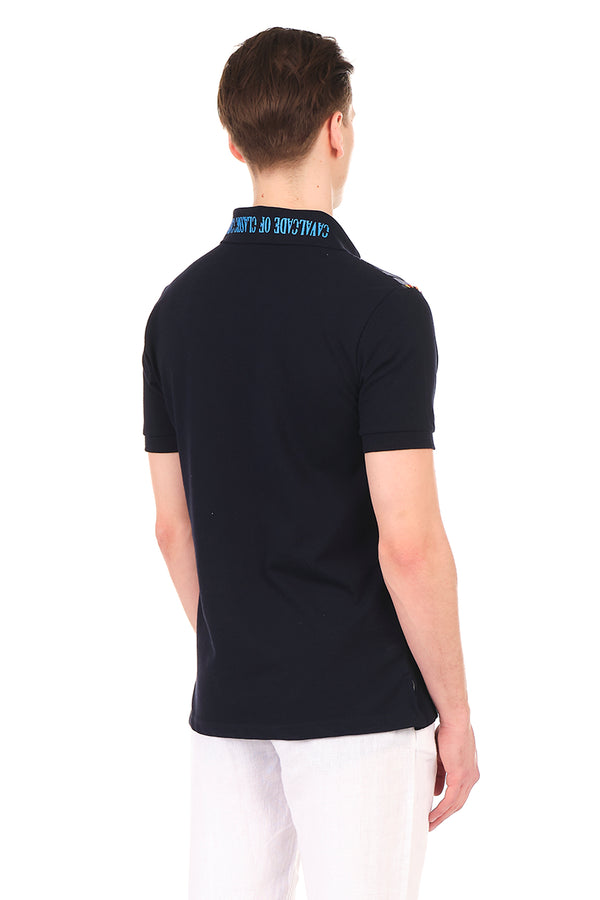 8131-NAVY POLO SHIRT - Ron Tomson