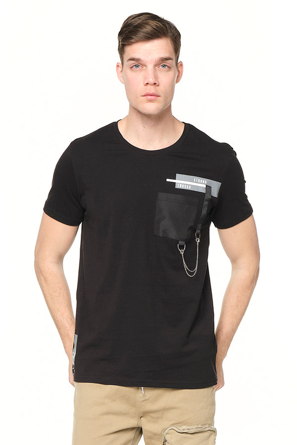 Strength Tee - BLACK - Ron Tomson