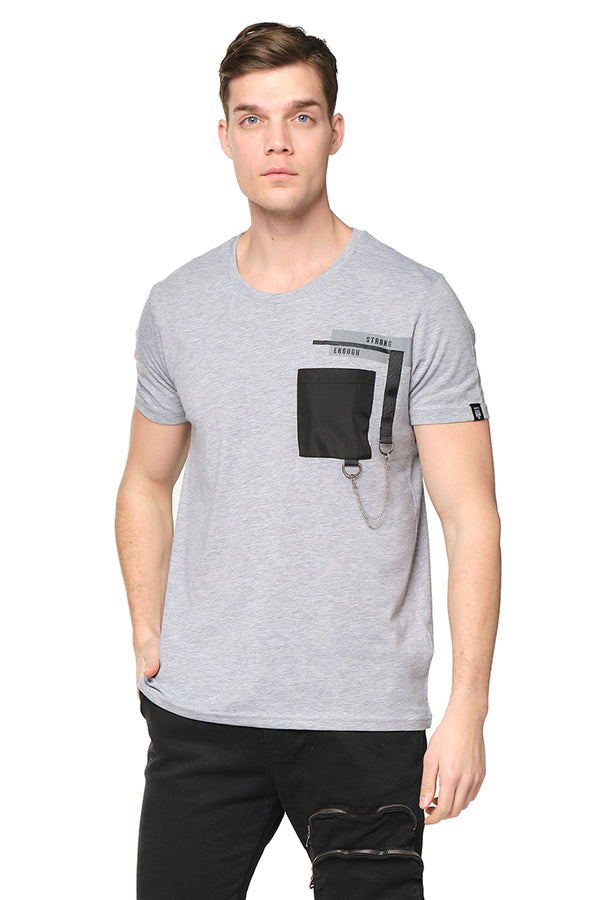 Strength Tee - GREY MELANGE