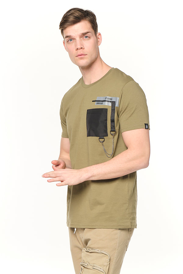 Strength Tee - KHAKI - Ron Tomson