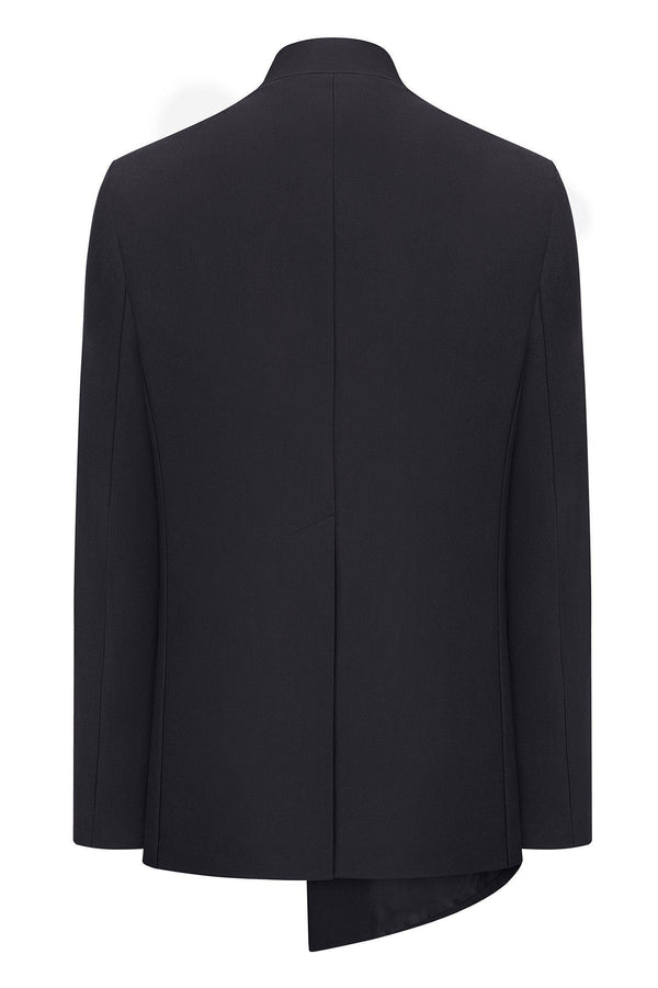 Asymmetric Jacket - Black
