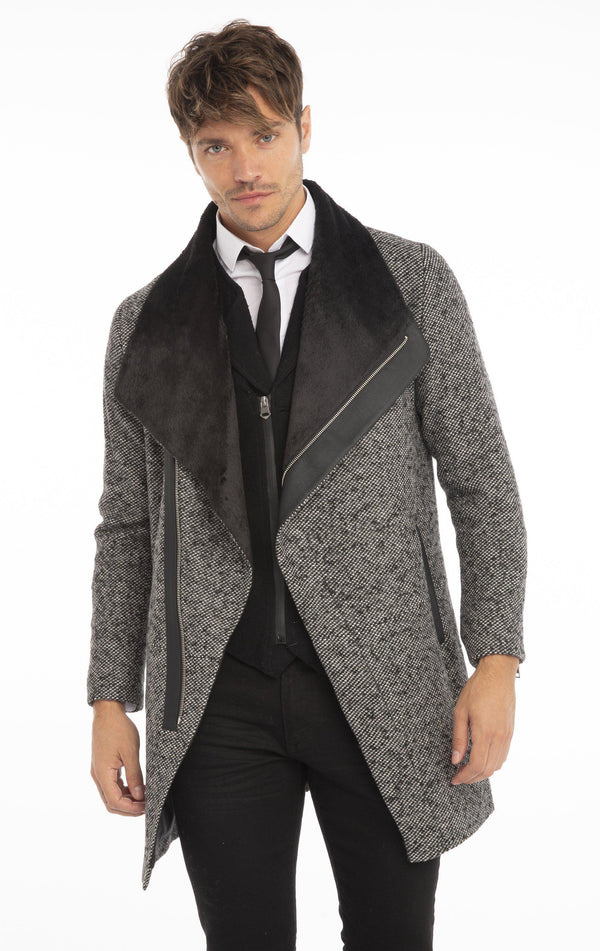 Beydag Knit Jacket - Grey