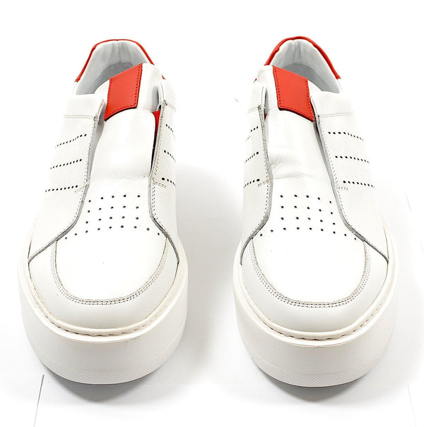 Blanco Casual Sneaker -  White Red
