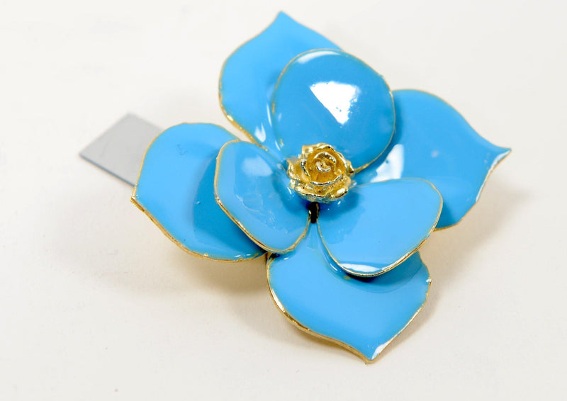 Blue Flower Brooch - PN-1956