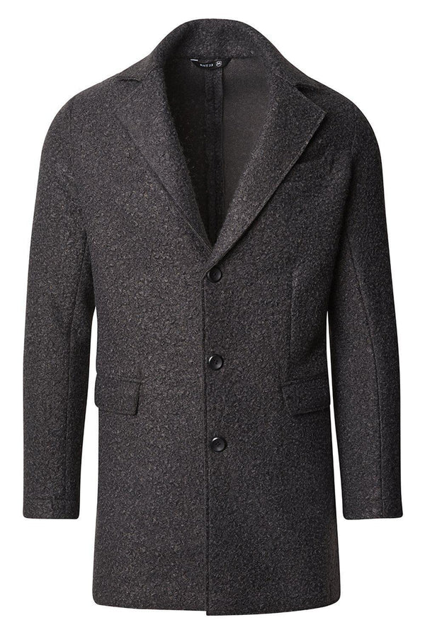 Boucle Coat - Anthracite