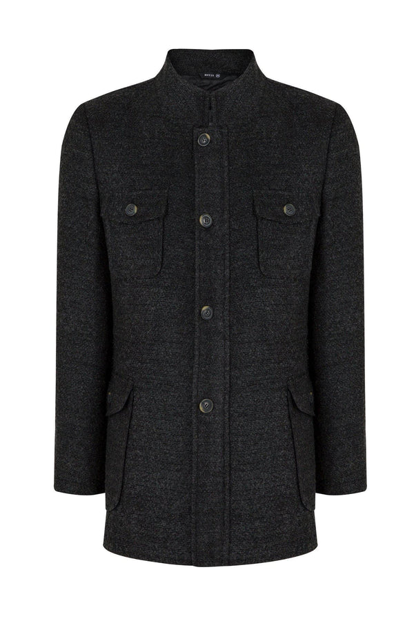 Boucle Field Coat - Anthracite