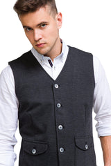 City II Vest - Anthracite - Ron Tomson