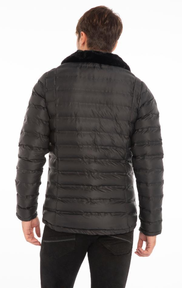 Comfy Lightweight Puffer Jacket - Black
