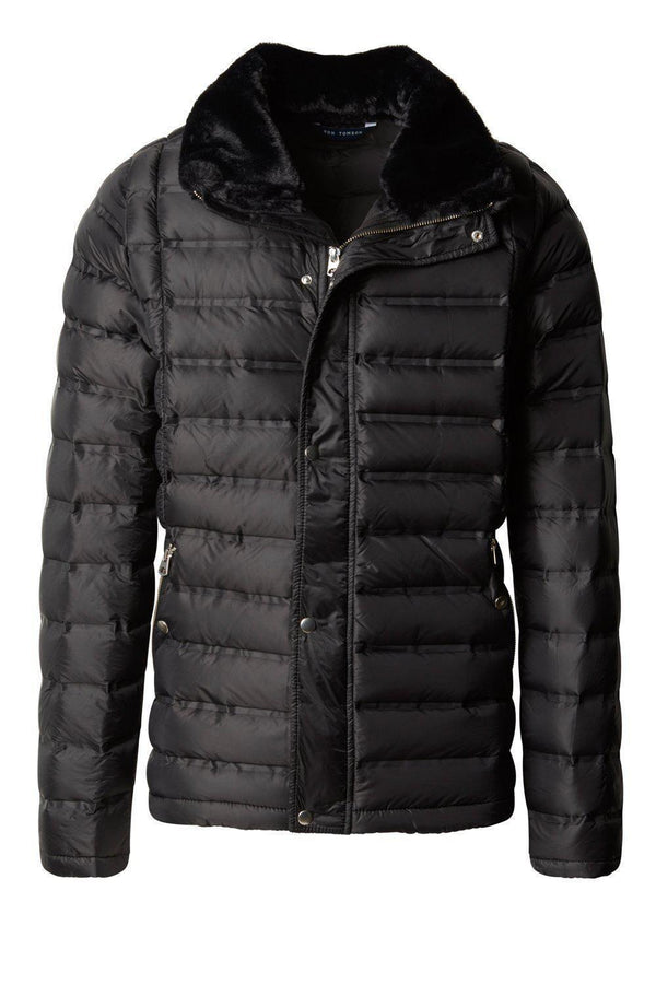 Comfy Lightweight Puffer Jacket - Black - Ron Tomson