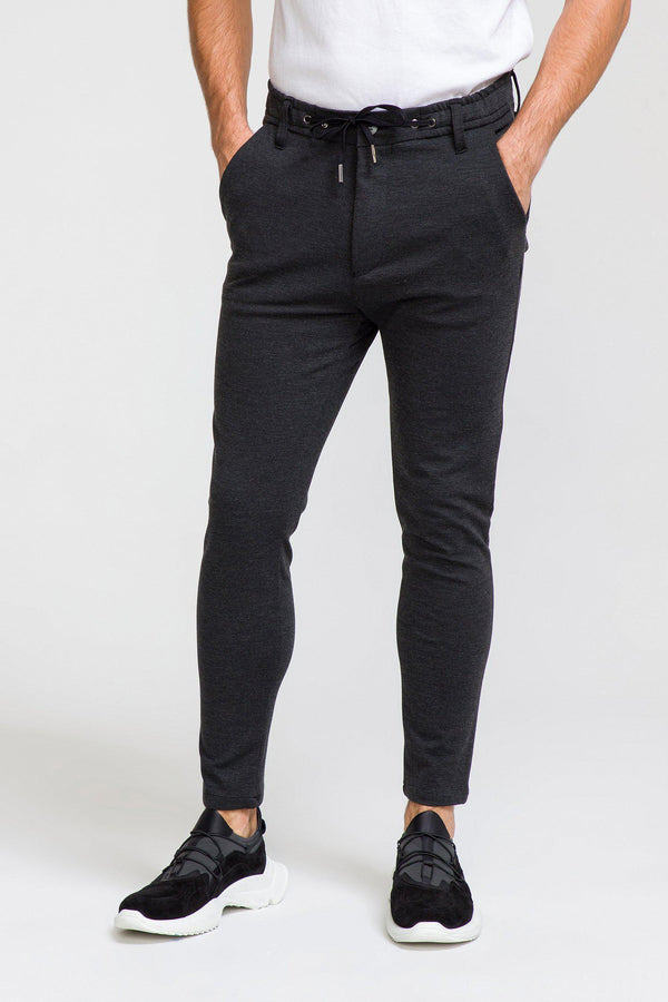 Commuter Casual Trouser - ANTHRACITE - Ron Tomson
