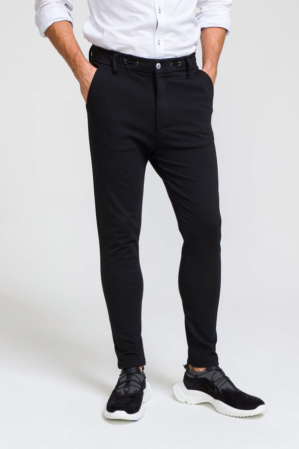 Commuter Casual Trouser  - BLACK