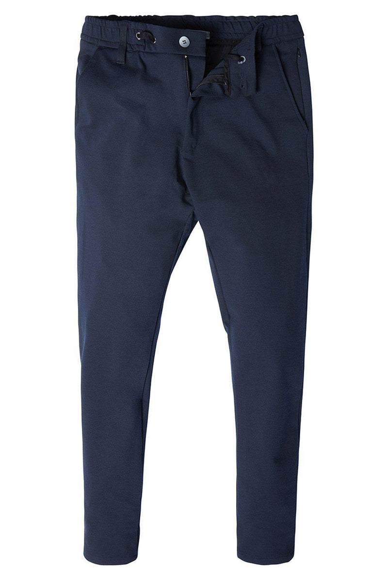Commuter Casual Trouser - NAVY - Ron Tomson