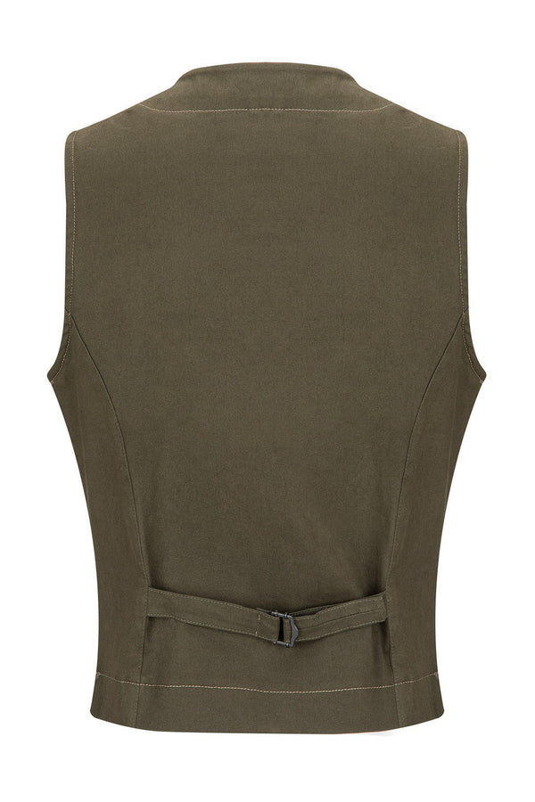 Cotton Vest - Green
