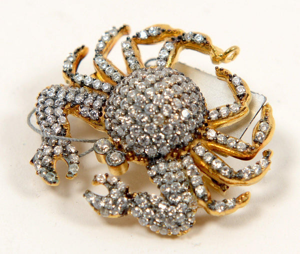 Crab Brooch - PN-1948 - Ron Tomson