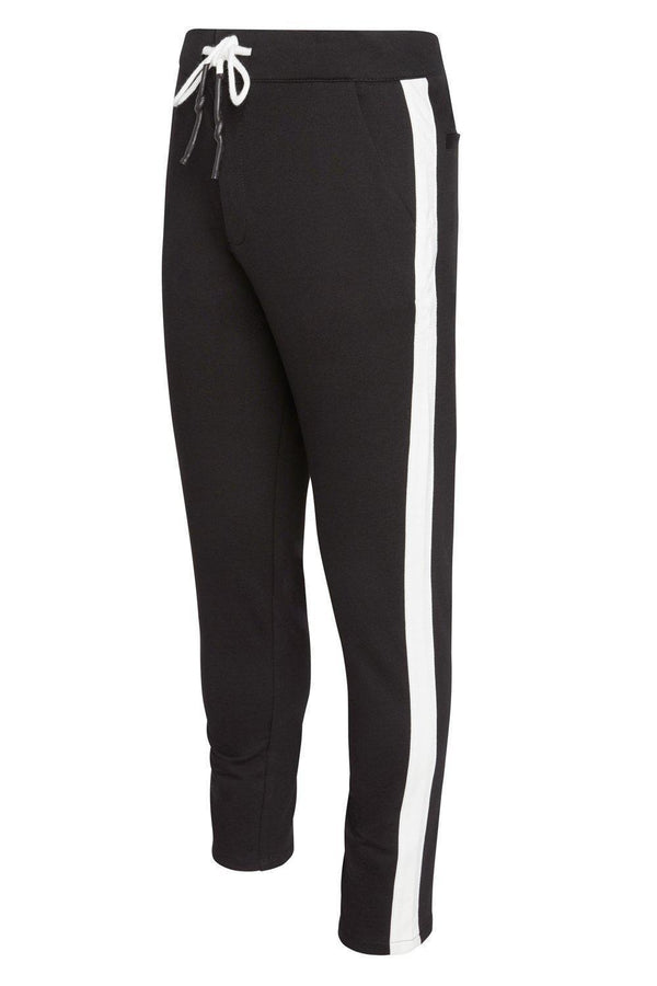 Cruise Track Pants - Black White
