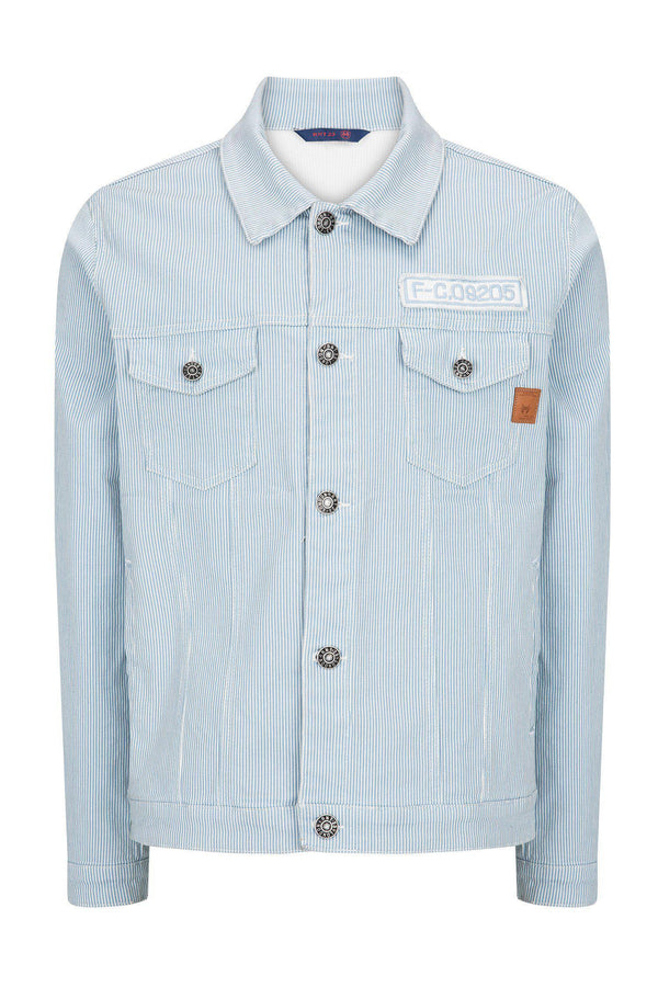 Denim Jacket - Mint