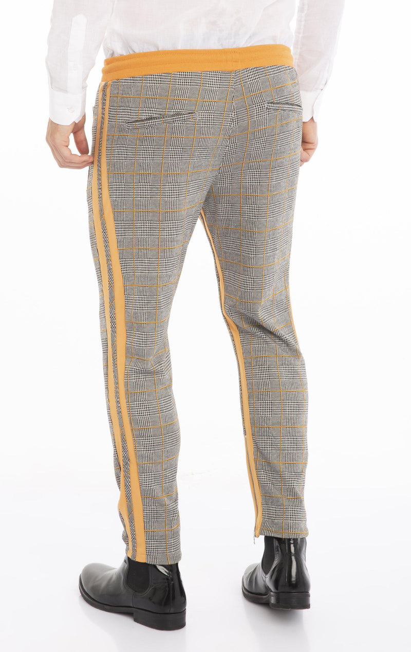 Double Stripe Joggers - New Yellow